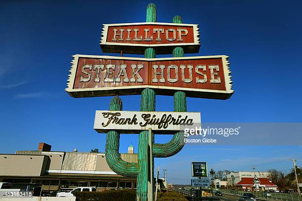 Hilltop Steak House prepared to auction off memorabilia that was on display at the facility which has closed The famous RT 1 sign