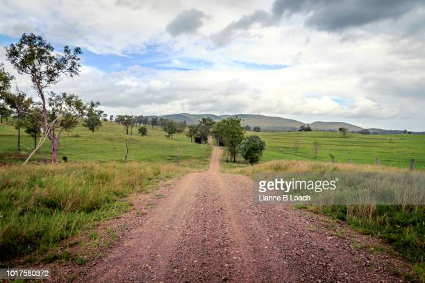 hilly dirt road 2 - lianne loach stock pictures, royalty-free photos & images