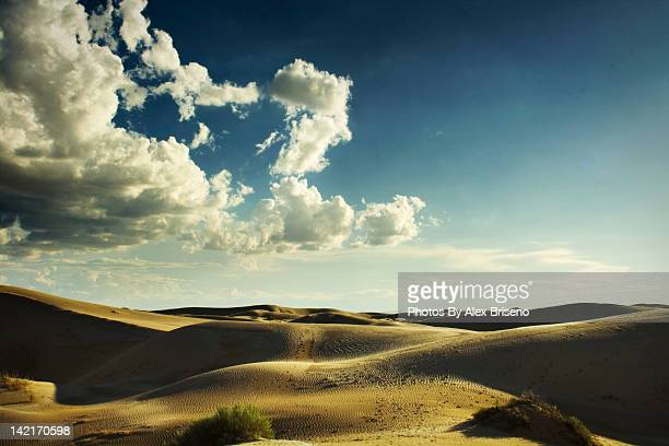 hilly landscape and cloudy sky - chihuahua desert stock pictures, royalty-free photos & images