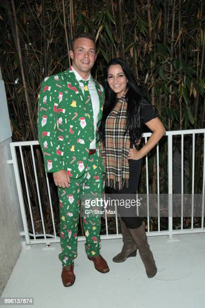 Hilsabeck and Cristina Coria are seen on December 19 2017 in Los Angeles CA