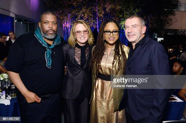 Hilton Als Ann Philbin Ava DuVernay and Tomas Maier at the Hammer Museum 15th Annual Gala in the Garden with Generous Support from Bottega Veneta on...