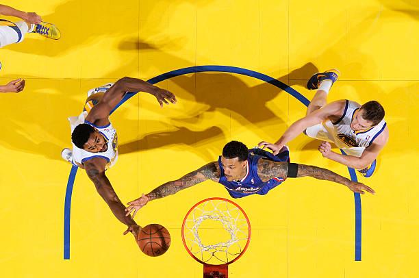 Matt Barnes of the Los Angeles Clippers vs. Warriors