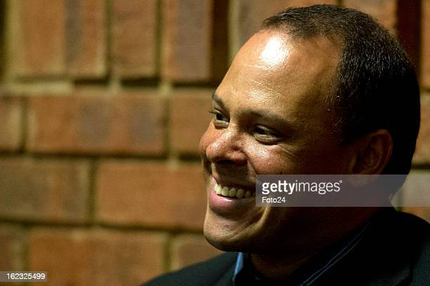 Hilton Botha appears in the Pretoria Magistrate Court during Oscar Pistorius's bail hearing on February 21, 2013 in Pretoria, South Africa. Oscar...