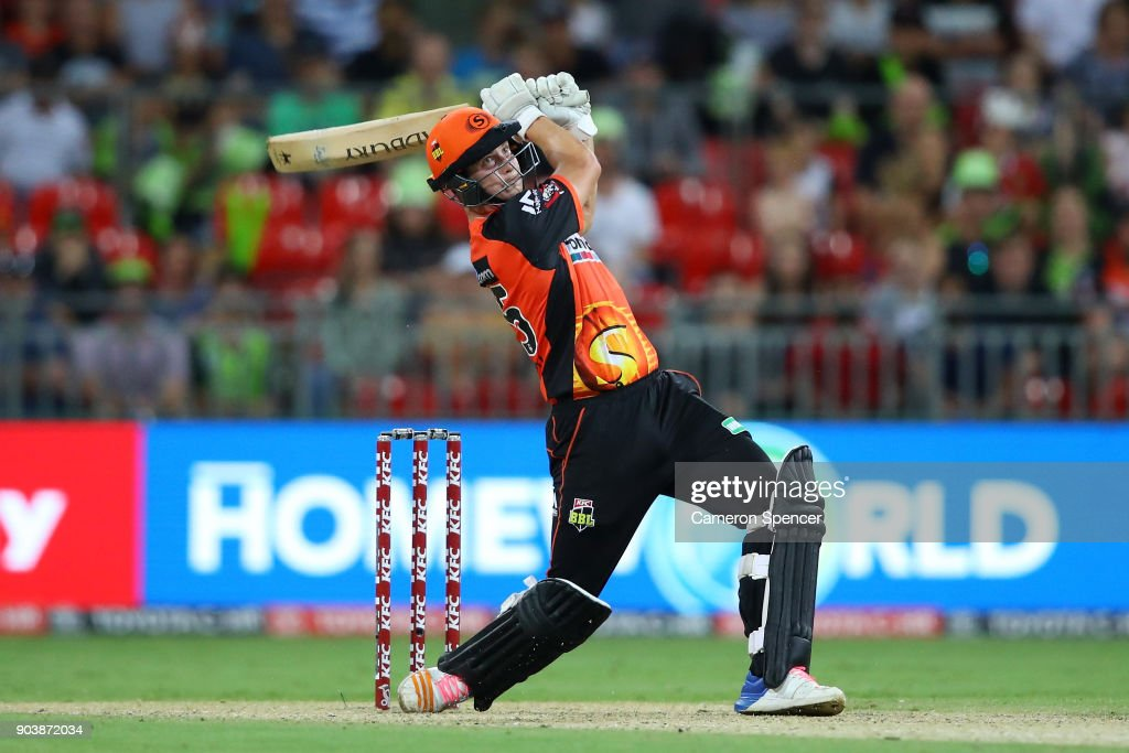 BBL - Thunder v Scorchers : ニュース写真