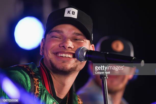 Hilton Honors Members redeem Points for an exclusive performance featuring Kane Brown at Canopy by Hilton Dallas Uptown on November 30 2018 in Dallas...