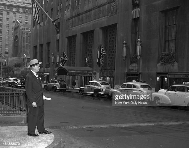 Hilton Hotel Corportion, Conrad Hilton, new boss of the Waldorf-Astoria,