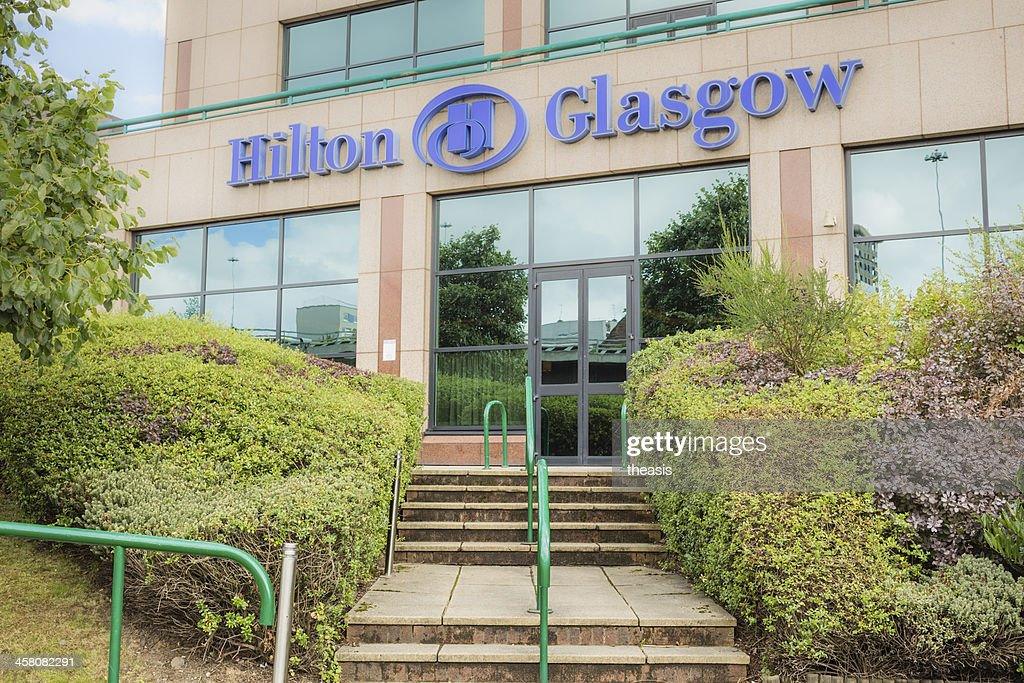 Hilton Hotel, Glasgow : Stock Photo