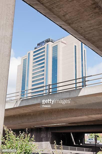 hotel hilton glasgow - theasis fotografías e imágenes de stock