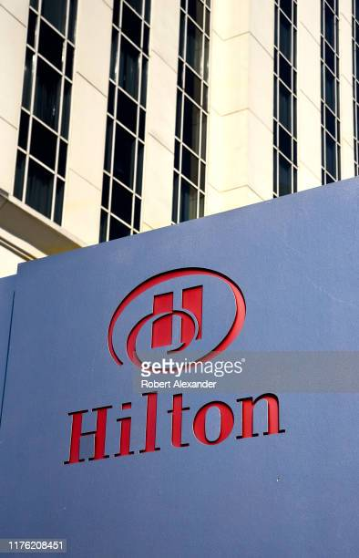 Hilton Hotel in downtown Nashville Tennessee