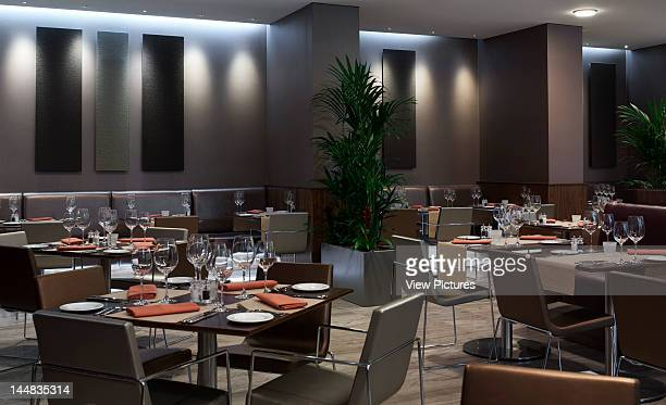 Hilton HotelLiverpool Merseyside United Kingdom Architect Aedas Architects Ltd Hilton Hotel Aedas Liverpool View Of Restaurant