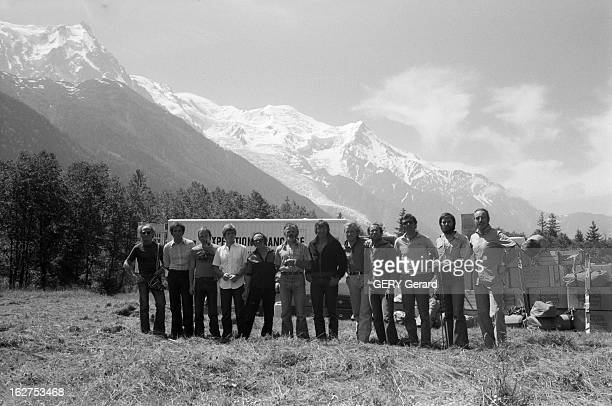 First French Expedition To Climb The Everest Au Népal en juillet 1978 Pierre MAZEAUD ancien ministre des sports part à la conquête de l'Everest à la...