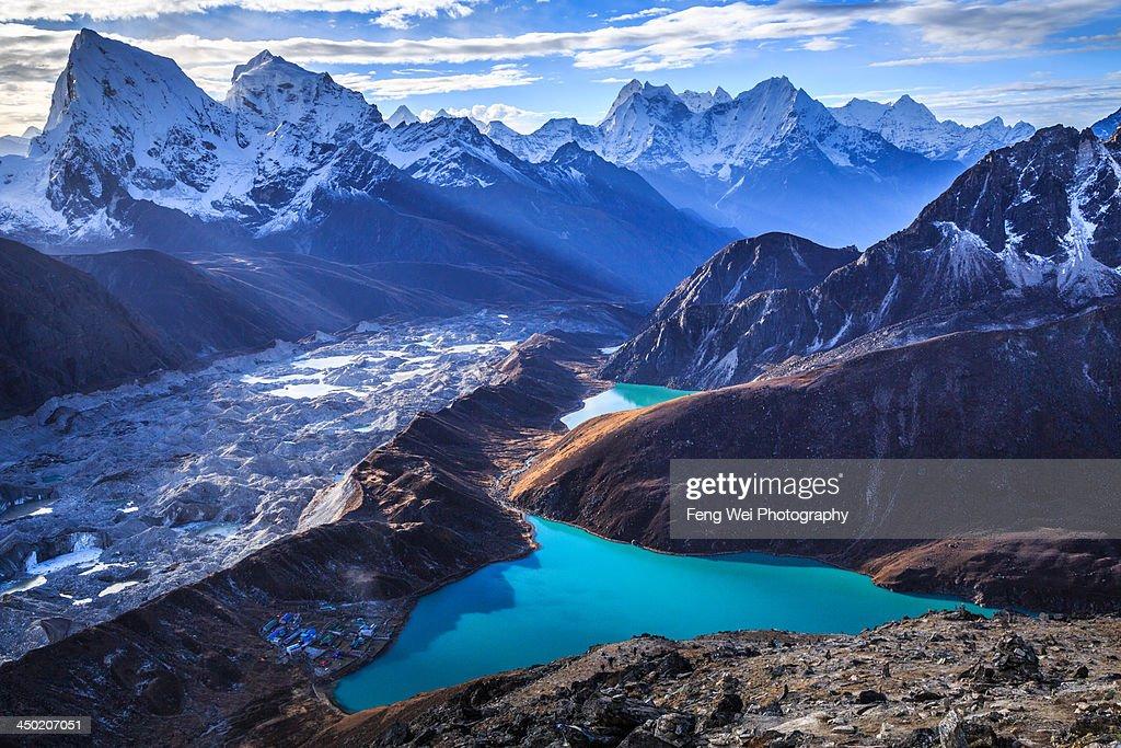Himalaya Landscape, Gokyo Ri, Sagarmatha National : Stock Photo