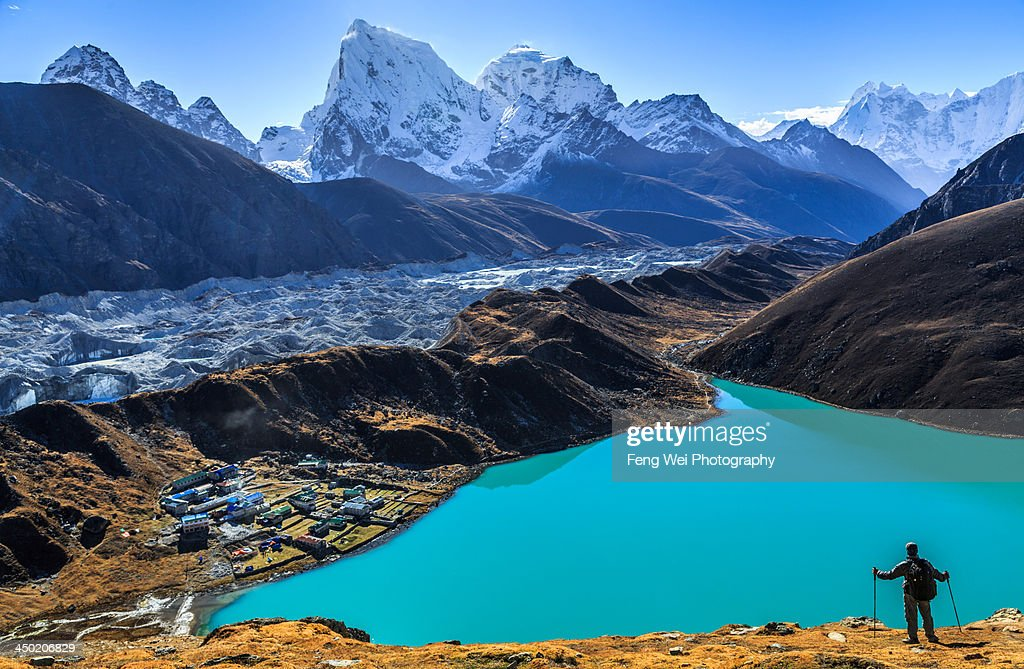 Himalaya Landscape Gokyo Sagarmatha National High-Res ...