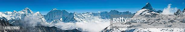 Himalaya mountain peak wilderness panorama Nepal