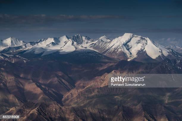 Himalaya mountain range at Leh, Ladakh region, India