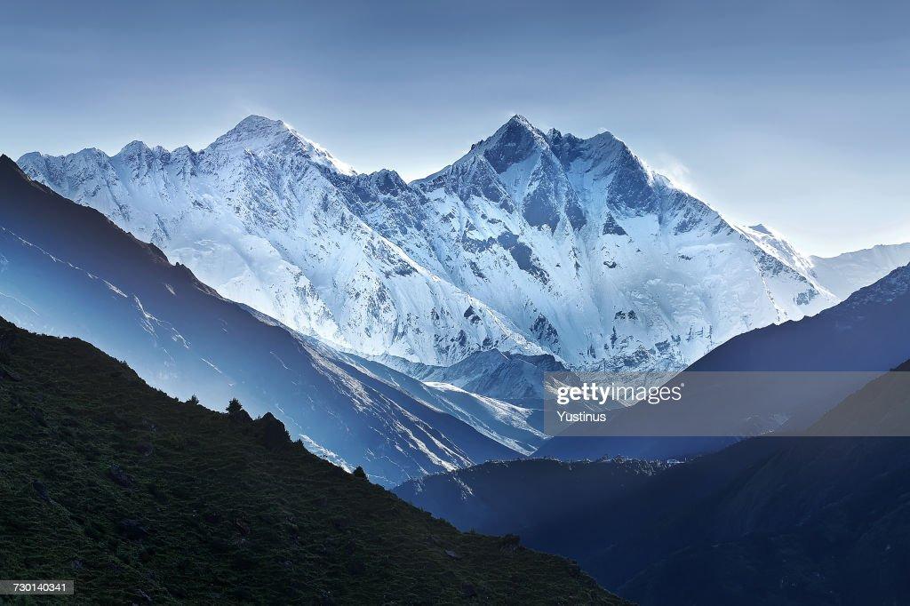 Himalaya mountain range, Nepal : ストックフォト