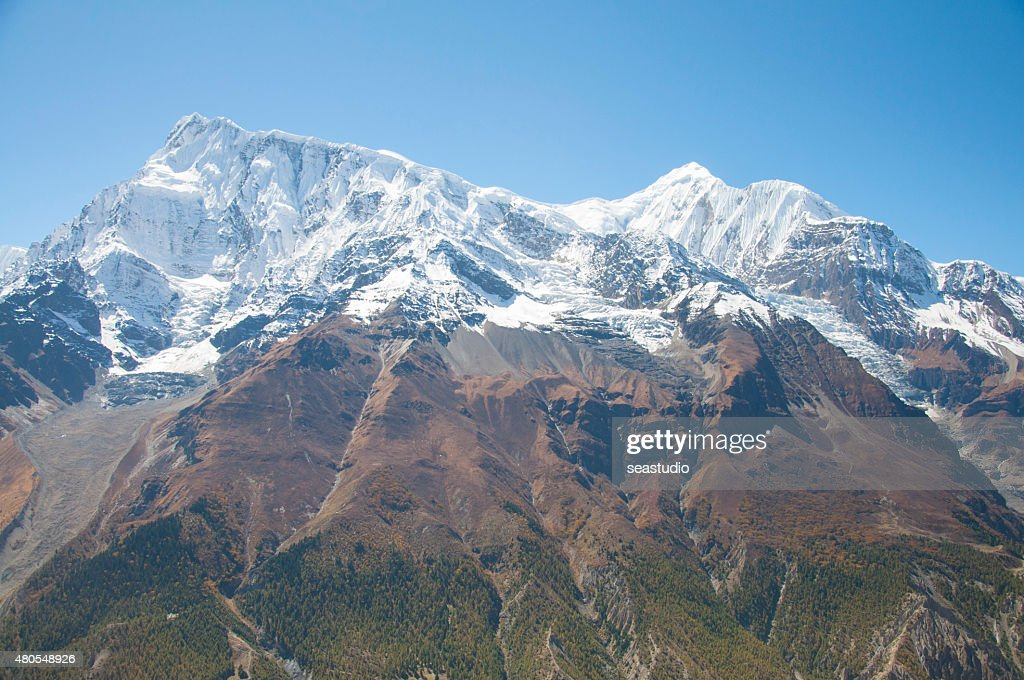 Himalaya mountains : Stock Photo