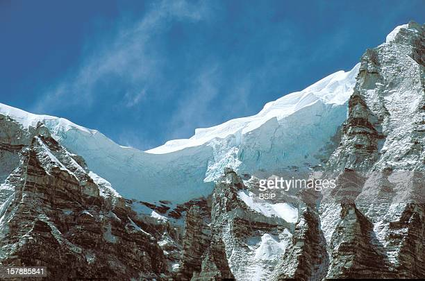 Himalaya, Nepal Himalaya, Nepal.Sherpa Region Of Solu Khumbu, Region Of The Everest, Located On The Himalayan Mountain Range At The East Of...