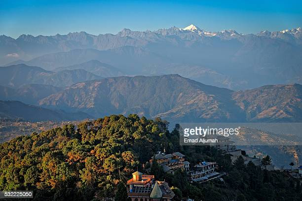 Himalaya range view from Nagarkot Nepal, Nepal