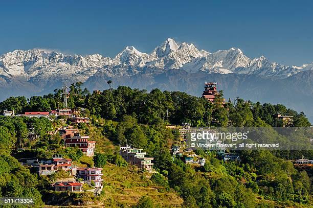 Himalaya seen from Nagarkot, nepal