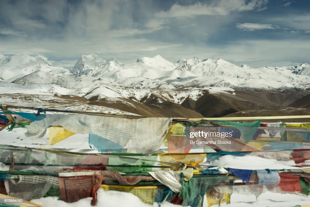 Himalayan prayer flags : Stock Photo