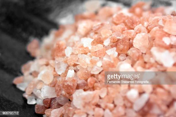 himalayan salt - road salt stock pictures, royalty-free photos & images