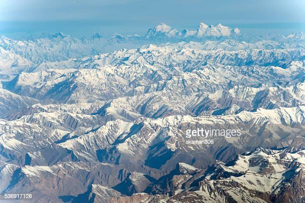 himalayas Mountain range on the way to leh ladakh