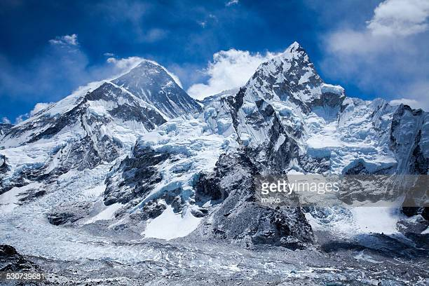 Himalaya Berge mit Mount Everest