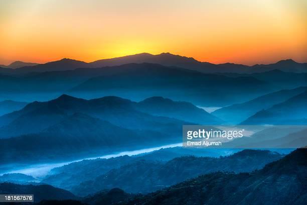 Himalayas sunrise, Nepal