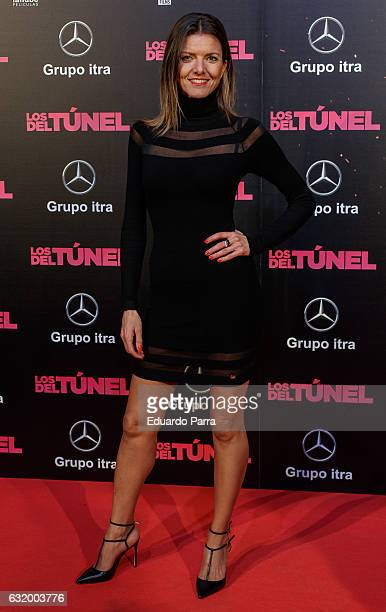 Himar Gonzalez attends 'Los del Tunel' premiere at Capitol cinema on January 18 2017 in Madrid Spain