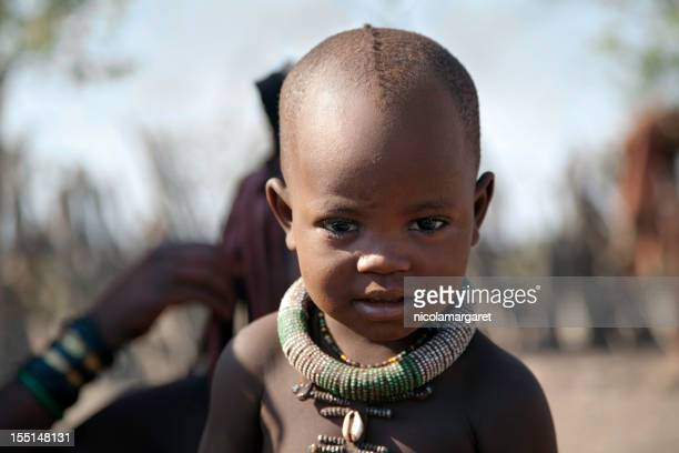 himba kind - himba stock-fotos und bilder