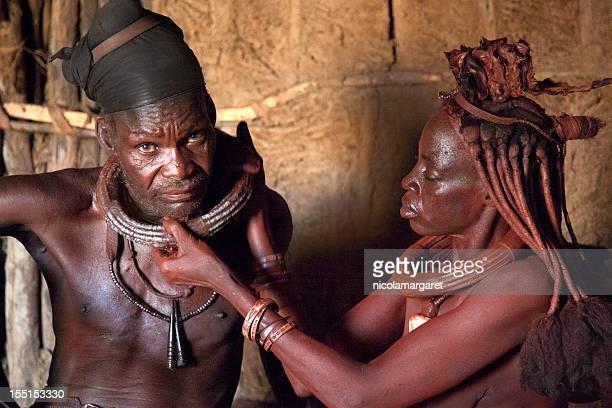 Himba couple