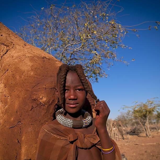Himba Village Girls