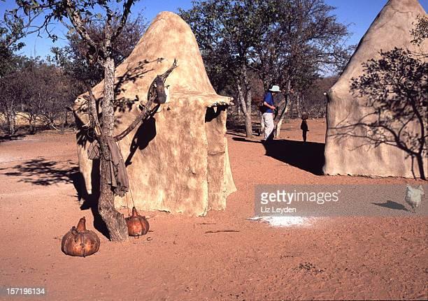 Himba village, Namibia, southern Africa.
