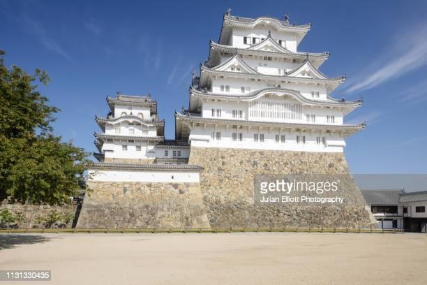 himeji castle is a japanese castle in the city of himeji, japan. - international landmark ストックフォトと画像