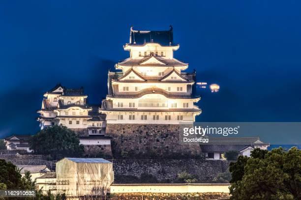 Himeji Castle Light Up Illumination, Himeji, Japan