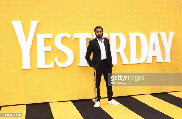 Himesh Patel attends the Yesterday UK Premiere McCallat the Odeon Luxe Leicester Square