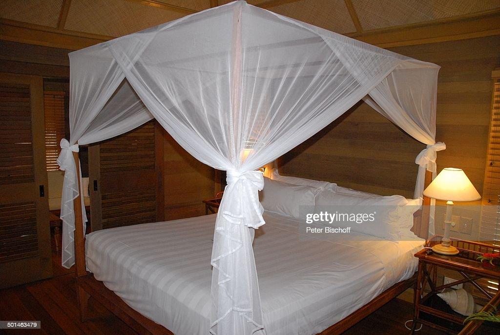 AuBergewohnlich Himmelbett, Luxus Bungalow (800 Euro/Nacht), U0027Hotel Bora Bora