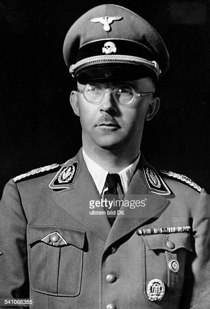 Himmler, Heinrich *-+Politiker, NSDAP, D- veröffentlicht anlässlich desfünften Jahrestages der Ernennung zumChef der Deutschen Polizei