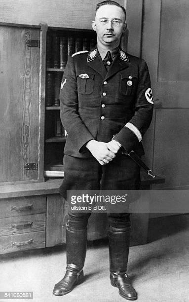 Himmler, Heinrich *-+Politiker, NSDAP, DPorträt- veröffentlicht anlässlich der Ernennung zum Chef der Deutschen Polizei