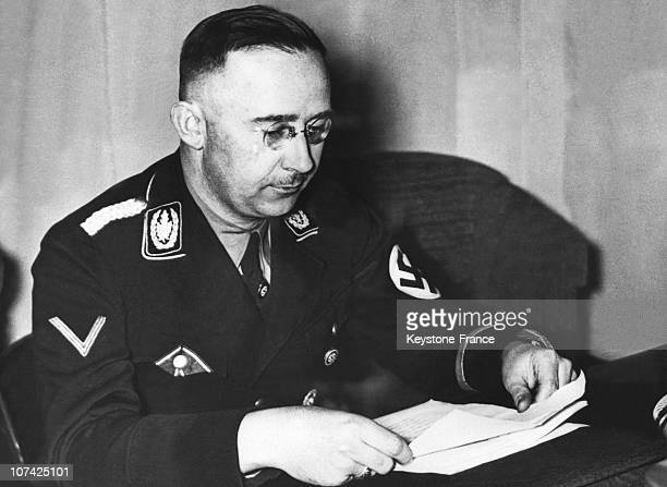 Himmler In Germany During Forties