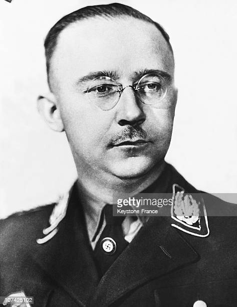 Himmler In Germany On 1945 During Forties