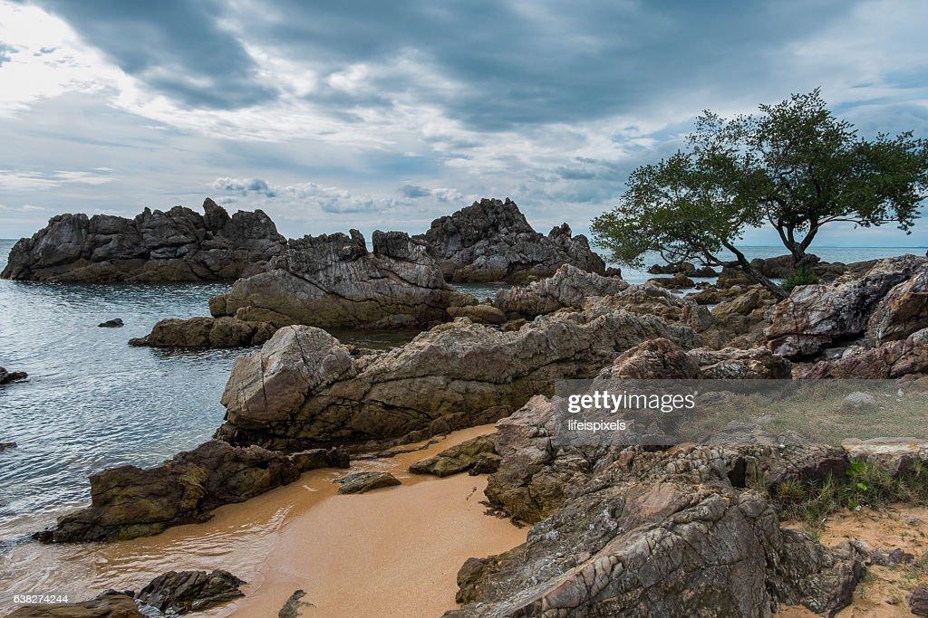 Hin Khrong View Point at Chanthaburi, Thailand : Stock Photo