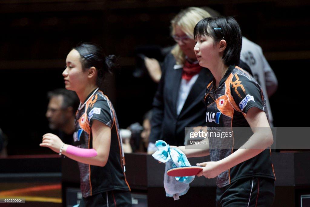 Table Tennis World Championship - Day 8 : ニュース写真