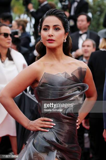 Hina Khan attends the screening of Les Plus Belles Annees D'Une Vie during the 72nd annual Cannes Film Festival on May 18 2019 in Cannes France