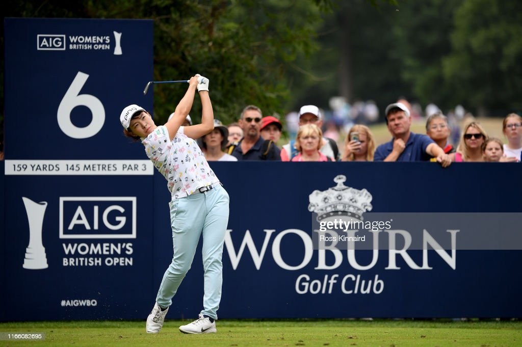 AIG Women's British Open - Day Four : ニュース写真