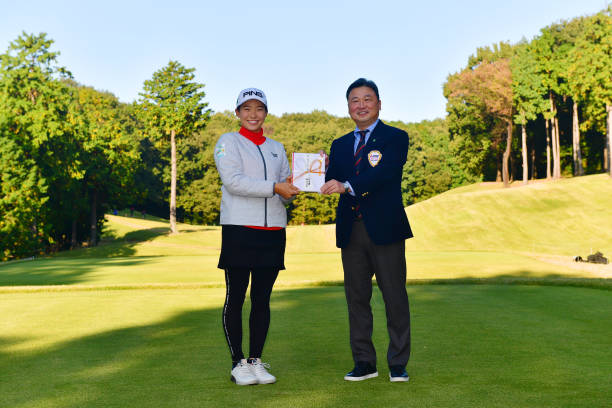 JPN: Hisako Higuchi Mitsubishi Electric Ladies Golf - Round Two