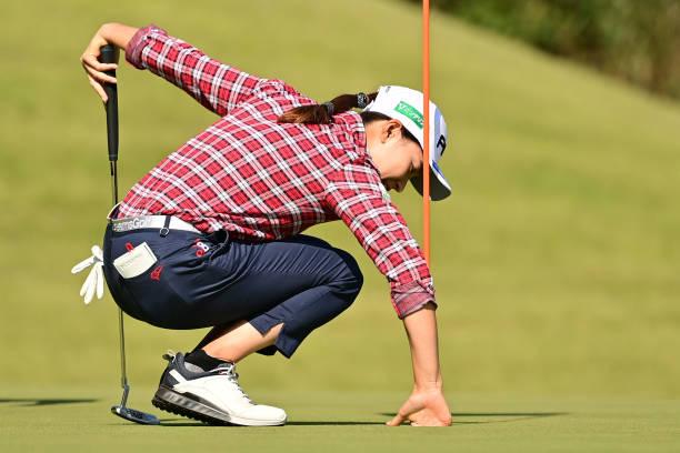 JPN: Hisako Higuchi Mitsubishi Electric Ladies Golf - Round One