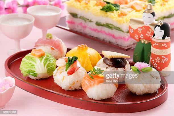 hinamatsuri feast - hinamatsuri stock pictures, royalty-free photos & images