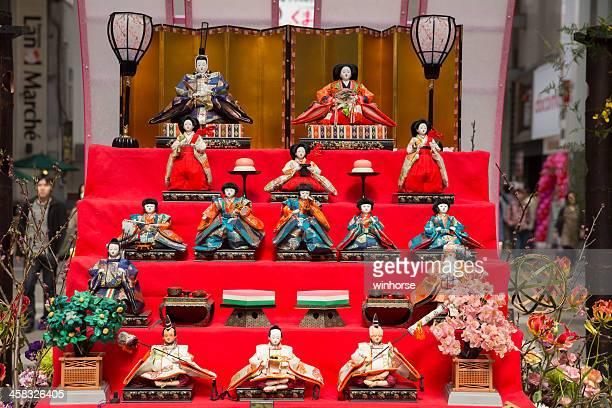 hinamatsuri in japan - hinamatsuri stock pictures, royalty-free photos & images